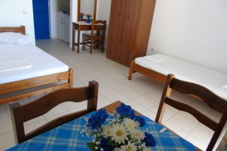 accommodation naxos studios pyrgaki interior