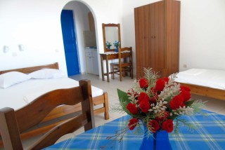 accommodation naxos studios pyrgaki room facilities