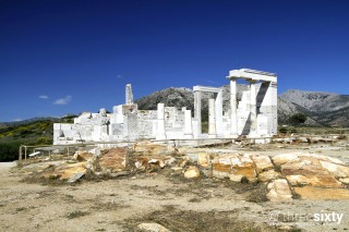 naxos island pyrgaki studios dimitra temple