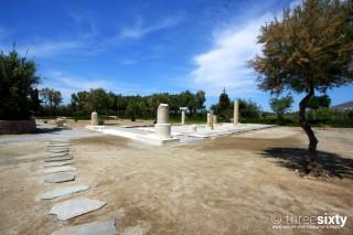 naxos island pyrgaki studios dionysus temple