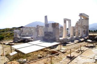 naxos island pyrgaki studios temple of dimitra