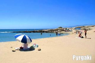 naxos pyrgaki studios sandy beach pyrgaki